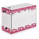 Короб архивный Attache Selection гофрокартон белый 251х150х355мм